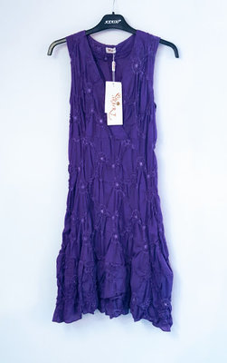 Heart Iris dress purple