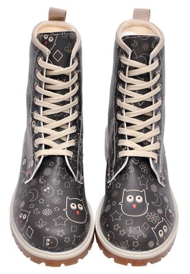 Owl Lover Long Boots