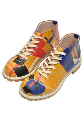 Suprematism Short Boots