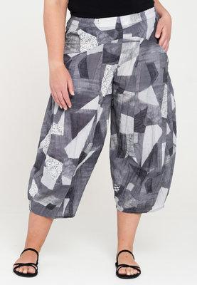 ,, Broek, Kekoo zakken patches, elastische taille, 7/8ste lengte
