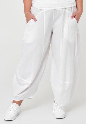 Ballonbroek, Kekoo, wit, elastische taille, 100% katoen.