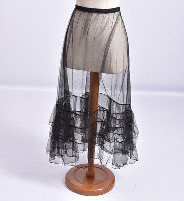 ..Moonshine Petticoat rok zwart