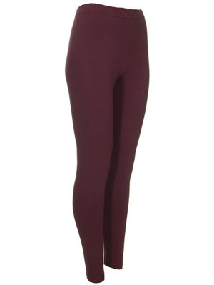 Legging. Super mooie wijnrood legging. Een must have voor iedere garderobe