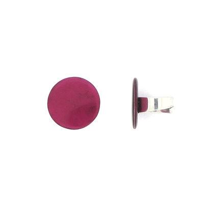 Ring pink van natuurlijk materiaal, verstelbaar