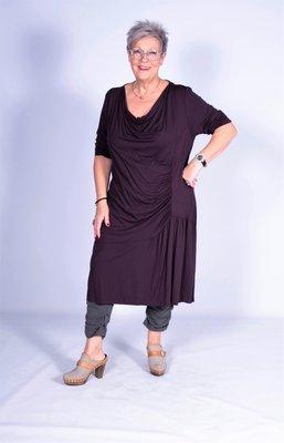 Exelle jurk paars.