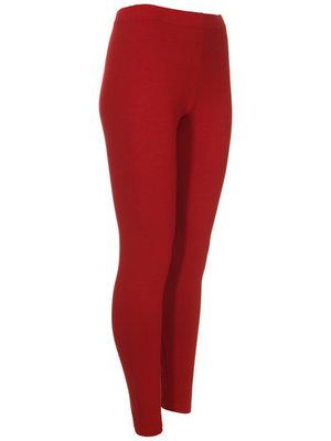 Dark red  Super mooie legging Een must have voor iedere garderobe