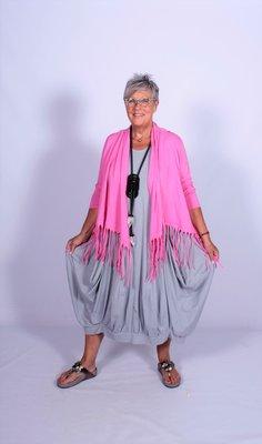 Moonshine Wild West Vest Jacket roze