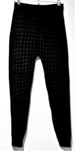 Thom B bodyfit legging zwart/grijs print