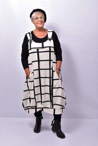 Overgooier, Kekoo, off white/ zwart, ballonmodel