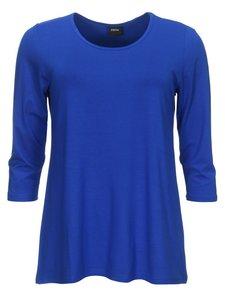 7e452d7a0bc Basis-shirt amy royal A-lijn ,driekwart mouw /navy